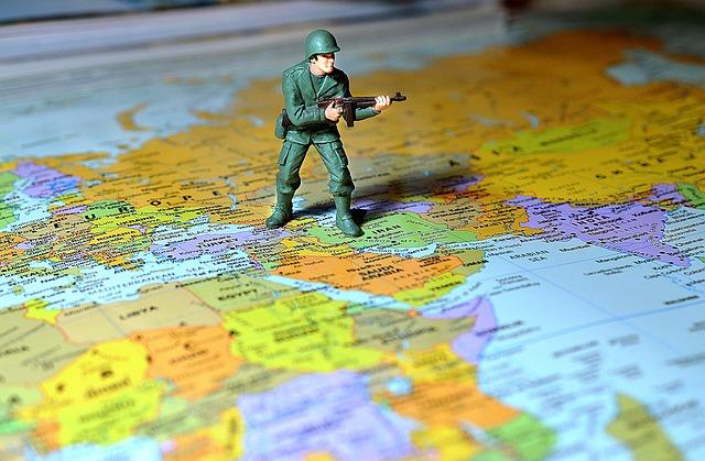 対外的な戦争のイメージ