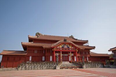首里城正面の写真