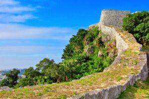 勝連城の城址