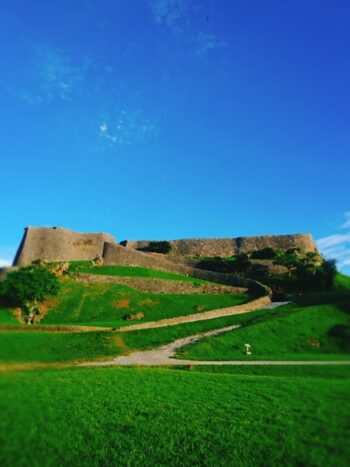 阿麻和利の勝連城跡地