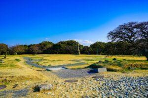 文禄の役・慶長の役で拠点となった名護屋城の跡地
